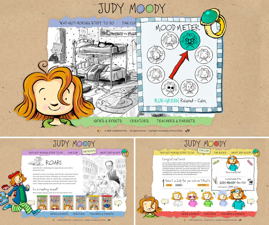 judy moody screen shot